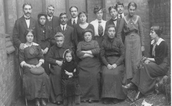Belgian Refugees in Ripley c 1914