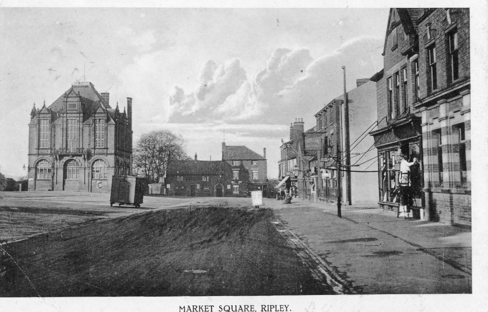 Market Place 1915
